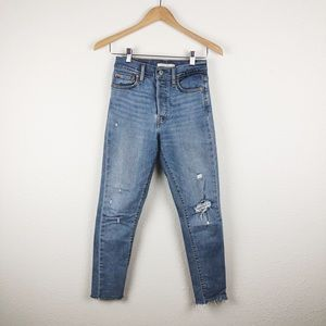 Levi's Distressed Wedgie Skinny Jean